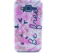 Pink Flower Free Pattern PC Hard Case forSamsung Galaxy Core Prime G360 G360H G3606 G3608 Back Cover