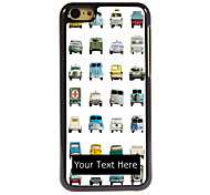 Personalized Gift Lovely Car Design Aluminum Hard Case for iPhone 5C