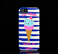 copertina rigida ice cream modello di iphone 5 per il iphone 5 s