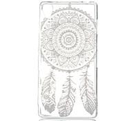 Campanula Pattern TPU Material Phone Case for Sony Xperia Z3