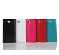 5.2 Inch Crazy Ma Pattern Luxury PU Wallet Leather Case for Motorola XT1225 (Assorted Colors)