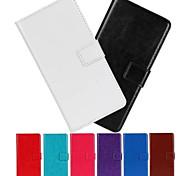 Caso del patrón ma loco de lujo de la PU billetera de cuero de 5 pulgadas para una s7 toque pop (colores surtidos)