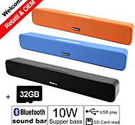 32GB TF und g-807f 10w Macht Bluetooth Soundbar-Lautsprecher fm aux-Fernbedienung Stereo-Bluetooth-Wireless spricht
