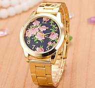 Women's Watches  Men And Women Quartz Swiss Alloy Watch Fashion Butterfly Steel Watch