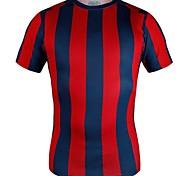 T-shirt ( Voir l'image ) de Football - Respirable/Haute respirabilité (>15,001g)/Antistatique/mèche/Compression/Matériaux Légers  à