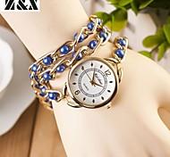 Women's Fashion Leisure Winding Quartz Plastic Bracelet Watch(Assorted Colors)