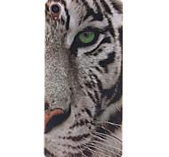 Para Funda Sony / Xperia Z3 Diseños Funda Cubierta Trasera Funda Animal Suave TPU para Sony Sony Xperia Z3 / Sony Xperia M2