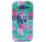 Skull Born To Die Pattern  PC Hard Case forSamsung Galaxy Core Prime G360 G360H G3606 G3608 Back Cover