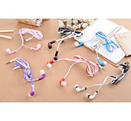930 clásicos de 3,5 mm para auriculares 1.0 de 100cm de oído para el iphone / samsung / Huawei / mijo / arroz rojo / htc (color
