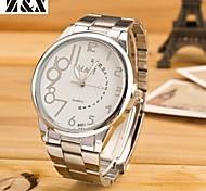 Men's Fashion Commerce Quartz Analog Steel Belt Watch(Assorted Colors)