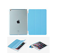 For iPad Air For iPad5 Smart Cover Case Front leather Cover+Transparent Back Cover