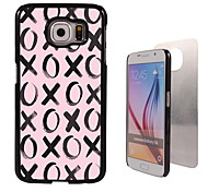 xoxoxo ontwerp aluminium koffer voor Samsung Galaxy s6