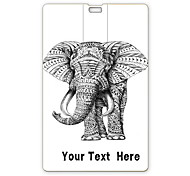 Personalized USB Flash Drive Elephant Design 64GB Card USB Flash Drive
