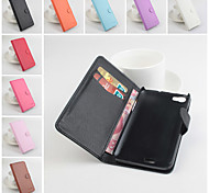 Flip Leather Magnetic Protective Case For Wiko Lenny(Assorted Colors)