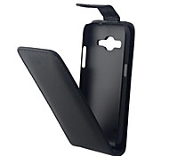 Vertical Flip Magnetic Button Leather Case for Samsung Galaxy Core Prime G360 G3606 G3608