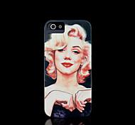 cobertura padrão Marilyn Monroe para iphone 4 / iphone 4 s caso