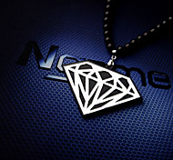 Hollow Diamond Hiphop Necklace