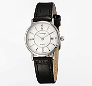 Women's Fashion Watch Japan Original Movement Ultra-thin Dial Design Genuine Leather Strap Luxury Brand Watches