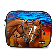 "For U Designs 10"" Parent-Child/Horse Laptop Sleeve Case for Ipad"