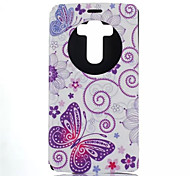 Butterfly Pattern Quality Bracket Case for LG G4