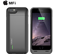 CRDC ® MFI 3000mAh IPhone6 Battery Case External Removable Backup Power Charger Case for iPhone6(Black)