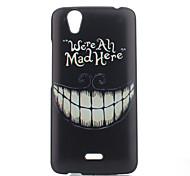 padrão de dentes pintado caso de telefone PC para Wiko birdy