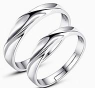 Couple de Bagues ( Alliage/Strass ) Mariage/Soirée/Quotidien/Casual