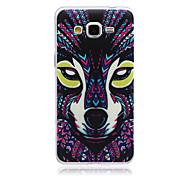 Wolf Muster slim TPU Material Softphone für Samsung-Galaxie grand prime G530