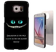 fantasie ontwerp aluminium koffer voor Samsung Galaxy s6