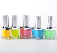 Bright High-grade Green Nail Polish (60 Colors Optional)