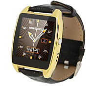 RWATCH R7 Smart Watch Pedometer/Sleep test/Anti-theft /Altimeter/Barometer/Thermometer Leather Strap