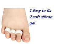Soft Silicon Gel Separator Toe Crest Or Hammer Toes Distorted Orthopedic Straightening High Heel Shoes Correction
