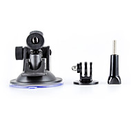 Rotating Car Mount Suction Cup Holder for Gopro Hero 4/3+/3/2/1/sj4000/sj5000/sj6000