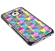 ananas patroon aluminium koffer voor Samsung Galaxy s6