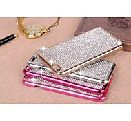 Crystal Sky Star Rhinestone Bling Metal Bumper Case Diamond Back Shell for iPhone 6 Plus