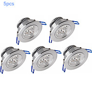 5pcs morsen® 6w 500-550LM supporto dimmerabile luci led pannello LED plafoniere