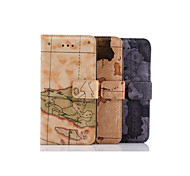 World Map with A Standoff About Open Holster for IPhone 6(Assorted Colors)