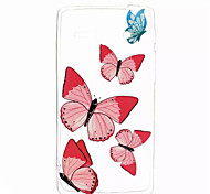 Back Cover Pattern Butterfly TPU Soft Case Cover For Huawei Other