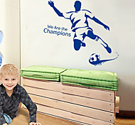Boys Room Cool Football PVC Wall Sticker Wall Decals