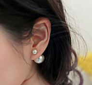 Women's Fashion Pearl Stud Earrings