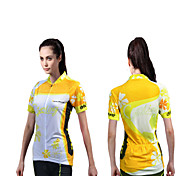 Cycling Jersey Women's Short Sleeve Bike Breathable / Quick Dry / Ultraviolet Resistant / Moisture Permeability / Antistatic Jersey / Tops
