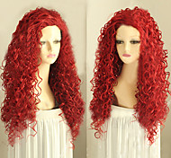 nuovi capelli ricci stile parrucche sintetiche onda parrucche stile di moda