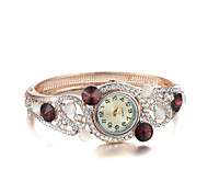 Sjewelry Fashion Lady Women Girl Crystal Vintage Bangle Bracelet Quartz Wrist Watch Gifts
