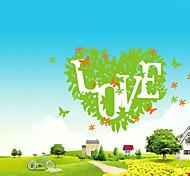 etiquetas removíveis ambientais pvc amor verde&adesivo