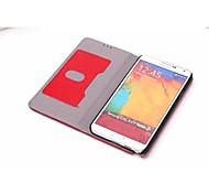 High-Grade Genuine Leather Mobile Phone Holster Full Body Case Shatter-Resistant Case for Samsung NOTE 3