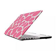 Fashion Rubberized Water Paste Design Full Body Hard Case for Macbook Pro 15.4 inch