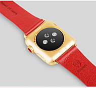 2015 Hot APPLE WATCH classic fashion leather strap button for iwatch durable soft leather strap watch wristband 42mm