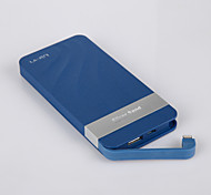 UKER Siliver Sand 7400mAh External Battery Pack Blue for iphone 6 / 6 plus/ Samsung/ HTC / LG And Other Mobile Device