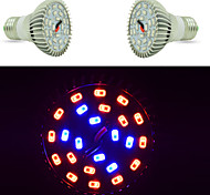 E27 15W 24Led Plant Grow Light  16Red and 8Blue SMD 5730 Bulbs Spotlight for Flowering Hydroponic System AC 110-220V