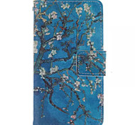 For Sony Case Wallet / Card Holder / with Stand / Flip Case Full Body Case Tree Hard PU Leather Sony Xperia E4G